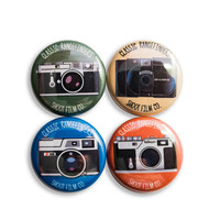 "Classic Rangefinders 1"" Button Set"
