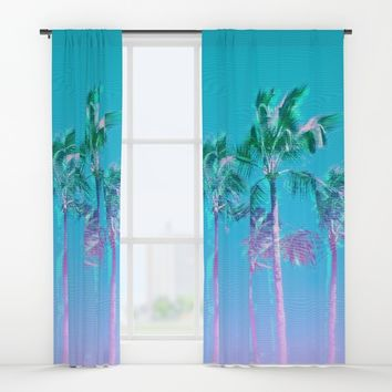 Palmsthetic Window Curtains by MidnightCoffee
