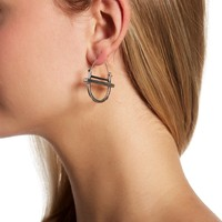 Melrose and Market | Geo Hoop Earrings | Nordstrom Rack