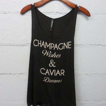 Champagne Wishes Sleeveless Top *SIZE LARGE ONLY*