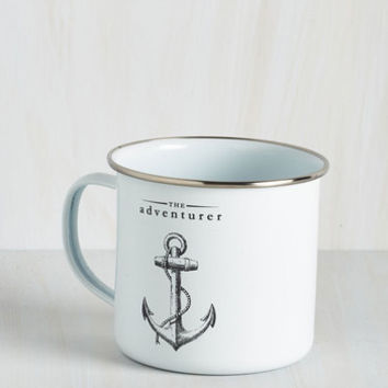 Nautical Anchor the Call Mug by ModCloth