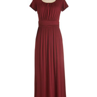 Long Short Sleeves Maxi Fun of the Mill Dress