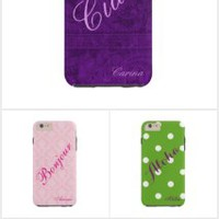 Salutation/Greetings iPhone 6 Cases