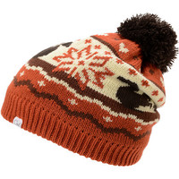 Coal Girls Heidi Dueling Squirrels Orange Pom Beanie at Zumiez : PDP