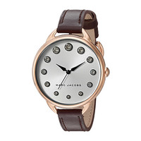 Marc Jacobs Betty Leather Three-Hand Watch