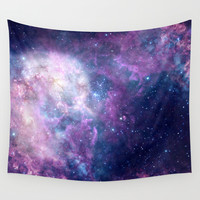 SPACE Wall Tapestry by Mason Denaro