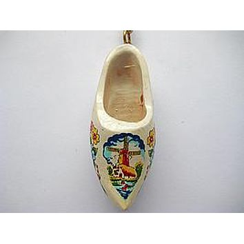 Danish Clog Keychain Multi-Color