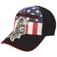 Sons of Anarchy - Patriotic Reaper Fitted Baseball Cap