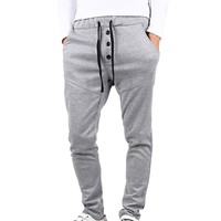 Juice Action Men's Comfortable Jogging Pants Tracksuit Bottoms Dance Baggy Training Running Trousers