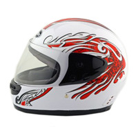 Motorcycle Motor Bike Scooter Safety Helmet 101    white