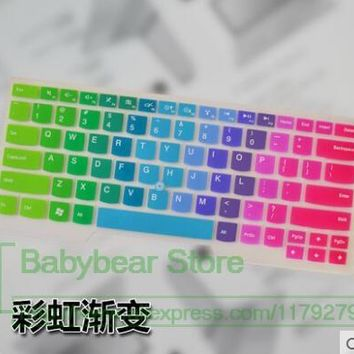 Silicone keyboard cover skin protector for Lenovo IBM THINKPAD T431S T440S T440P T440 L330 T430U S430 E445 E431 T430 E440