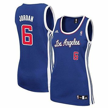 Deandre Jordan Los Angeles Clippers Nba Adidas Women's Blue Replica Jersey