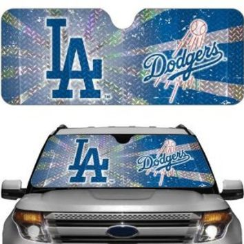 MLB Los Angeles Dodgers Auto Sun Shade Windshield