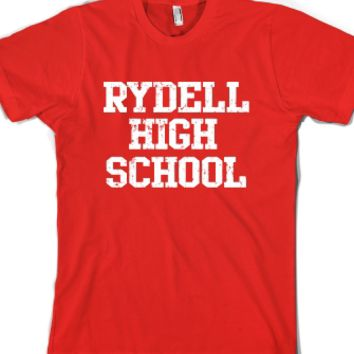 Rydell High School t shirt-Unisex Red T-Shirt