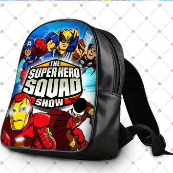 The Superhero Squad Show School Bag