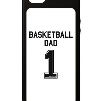 Basketball Dad Jersey iPhone 5C Grip Case  by TooLoud