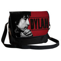 BOB DYLAN  High quality 12 Messenger bag & by PerfectGiftExpress