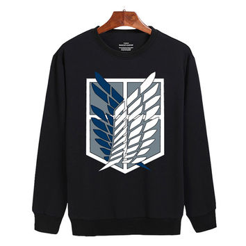Attack on Titan logo Sweater sweatshirt unisex adults size S-2XL