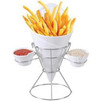 Gourmet By Starfrit(R) 080807-006-0000 French Fry & Dip Serving Dish