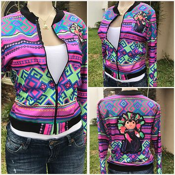 Mexican Doll Bomber Jacket