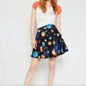 Playful Feeling Skirt in Planets
