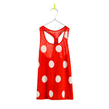 POLKA DOT TANK TOP - T-shirts - Girl - Kids - ZARA United States