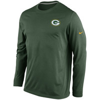 Green Bay Packers Nike Performance Legend Long Sleeve Practice Long Sleeve T-Shirt - Green