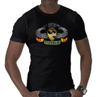 1st Cavalry - Airmobile VN T Shirt from Zazzle.com