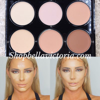 Beauty Treats Concealer Contour & Highlight Cream Palette #1