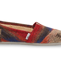 TOMS Grey and Orange Wool Women's Classics Orange