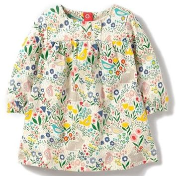 Mini Boden Spring Meadow Dress (Baby Girls) | Nordstrom