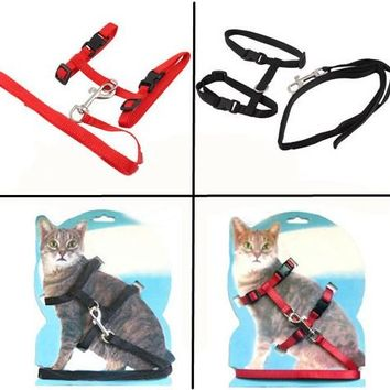 Cat Collar Belt Safety Rope