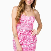 Easy Tribal Tube Dress
