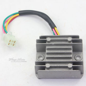 4 Wires Voltage Regulator Rectifier ATV GY6 50 150cc Scooter Moped JCL NST TAOTAO