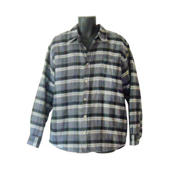Grunge Flannel Shirt Men Flannel Jacket Men Flannel Shirt Thick Flannel Lumberjack Flannel Fall Jacket Light Jacket 90s Grunge Jacket