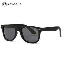 AEVOGUE Men's Sunglasses Unisex Style Sun Glasses 80s Retro Brand Designer High Quality With Colorful Temple UV400 DT0017