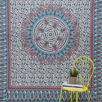 Ygrite Medallion Print Tapestry - Urban Outfitters