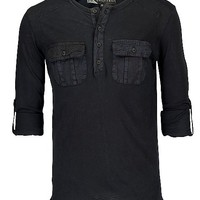 KC Conspirators Slub Henley Shirt