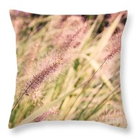 """Fields of Gold Throw Pillow for Sale by Ivy Ho - 16"""" x 16"""""""