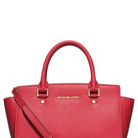 Women's MICHAEL Michael Kors 'Medium Selma' Zip Top Satchel