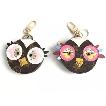 Lovely Birdie Round Zippy Coin Purse