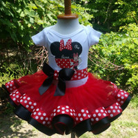 Minnie Mouse tutu, first birthday tutu, tutu, birthday tutu, tutu