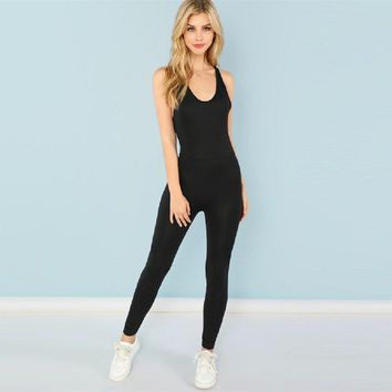 Back Sass Backless Jumpsuit