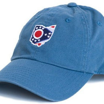 Ohio Traditional Hat in Gulf Blue by State Traditions