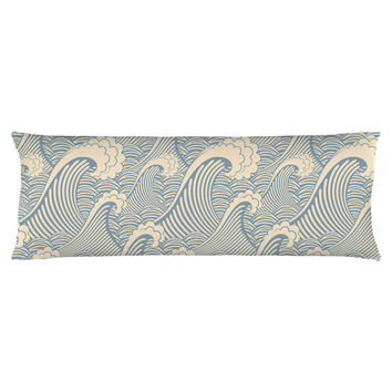 Waves of Chic Body Pillow