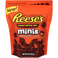 Walmart: Reese's Minis Unwrapped Peanut Butter Cups, 8 oz