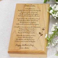 To My Daughter... Mother's Day Valet Box