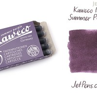 JetPens.com - Kaweco Summer Purple Ink - 6 Cartridges