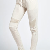 Lucy Slim Line Motorcycle Joggers