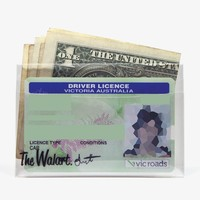 Clear Card Wallet